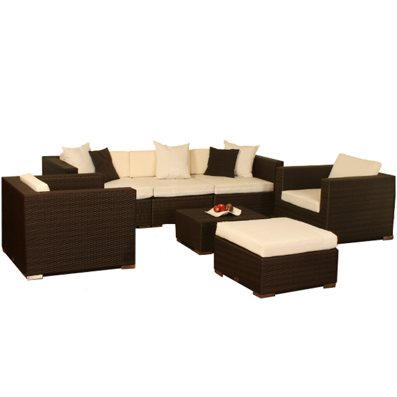 poly rattan gartengarnitur garten m bel rattanm bel. Black Bedroom Furniture Sets. Home Design Ideas