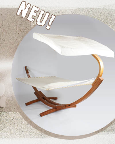 xxl h ngemattengestell holz h ngematte mit gestell 4m ebay. Black Bedroom Furniture Sets. Home Design Ideas
